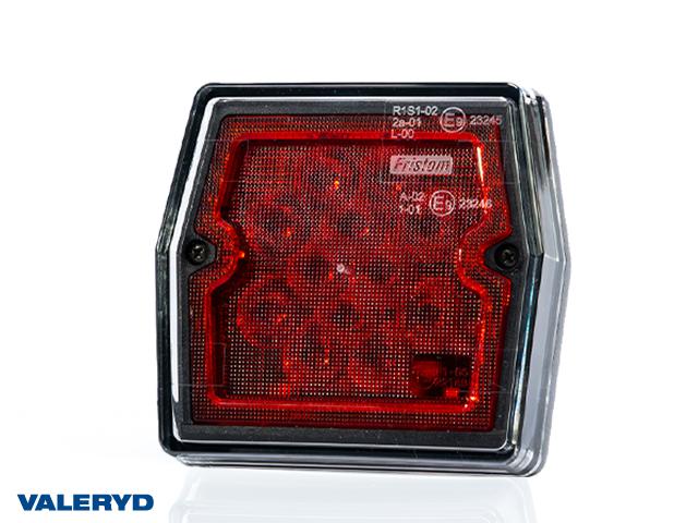 LED Dimljuslampa 99,7x92,7x30 kabel 1m, 2 x M5 skruvanslutning, CC=45mm