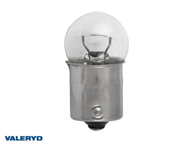 Glödlampa 12V/10W klot BA15S