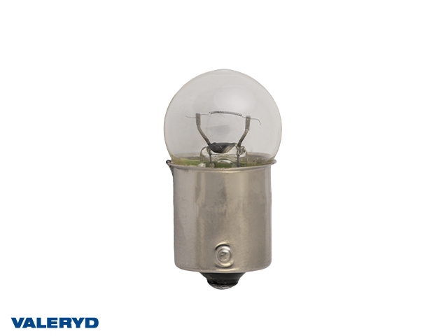 Glödlampa 12V/5W klot BA15S