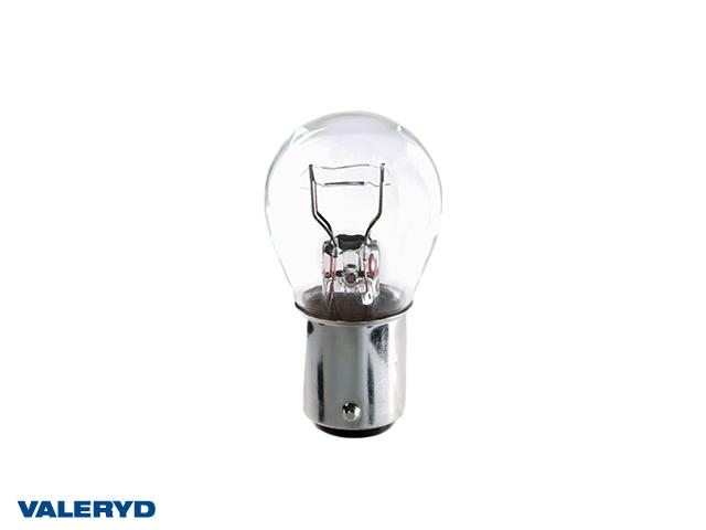 Glödlampa 12V 21/5W kombinerad klot BAY15D