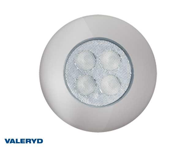 LED Innerbelysning rund Ø92 silver