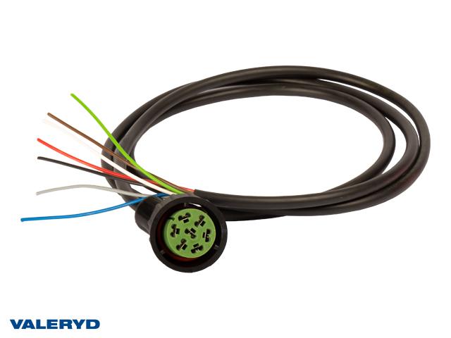 Adapter Aspöck Hö grön 7-pol. till ASS2 1,6m kabel
