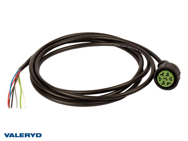 Adapter Aspöck Hö grön 7-pol. till ASS2 2,8m kabel