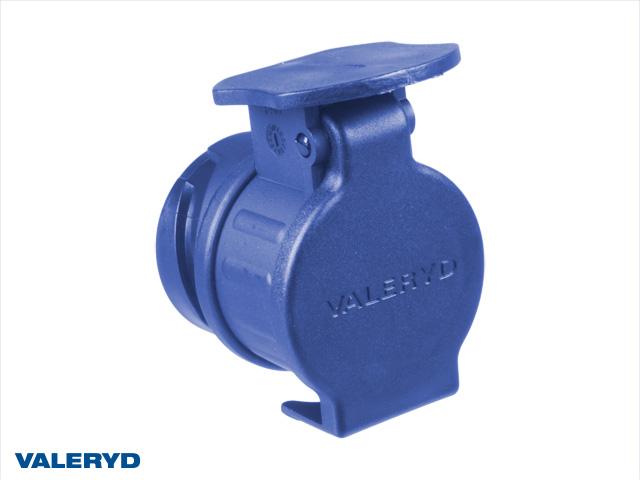 Stickpropp adapter 13-7 pol. blå plast