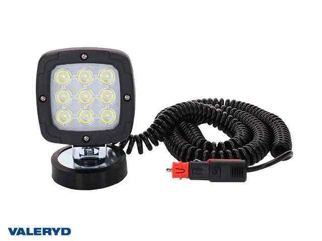 LED Arbetslampa 100x100x74, magnetfäste