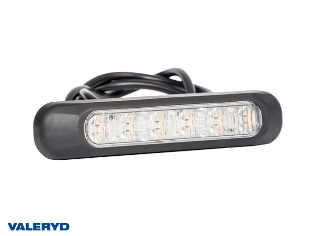 LED Varningsljus 132,2x28,2x28mm gul 1 m kabel