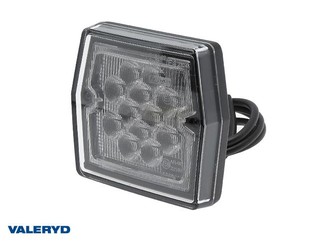 LED Backljus 99,7x92,7x30 , kabel 1m , 12V , 2 x M5 skruvanslutning, CC=45mm