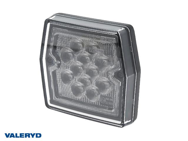 LED Backljus 99,7x92,7x30 , bajonett 2(5)pol , 12V , 2 x M5 skruvanslutning, CC=45mm