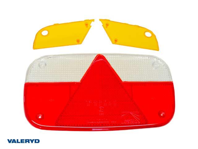 Reservglas Aspöck Multipoint III Baklampa 244x138x60 (till 3010092,93 & 94)