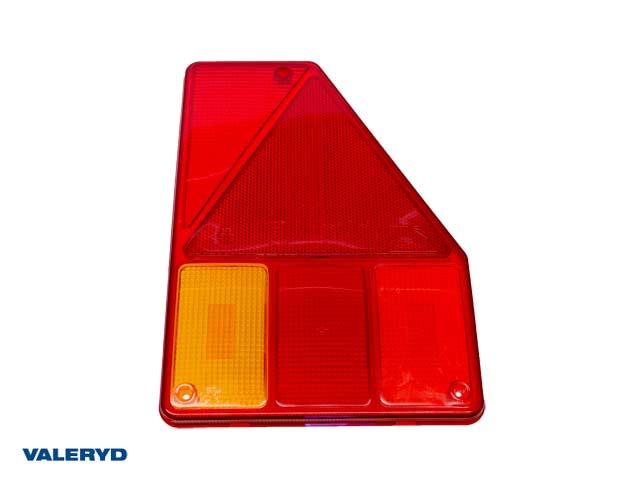 Reservglas Aspöck Earpoint I Baklampa Hö 180x255x83 med triangelreflex (till 3010057)