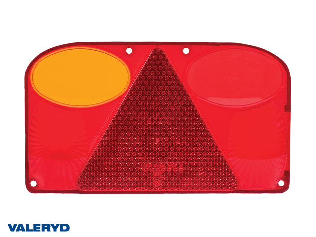 Spare lens Tail light Left 238x138x55 with reversing lamp (for 3010089)