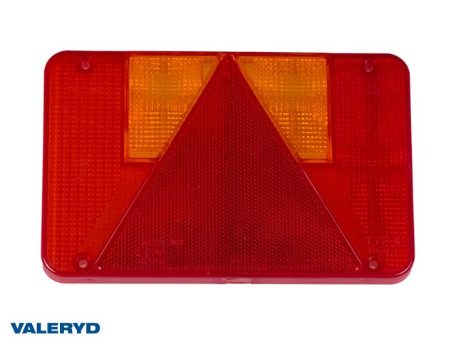 Reservglas Radex höger till 3010307 / vänster till 3010303, 220x140x20