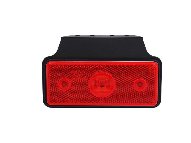LED Positionsljus Valeryd 118x72x30 röd 12-30V inkl. 450 mm kabel