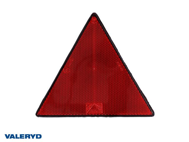 Triangelreflex 156x136 röd självhäftande