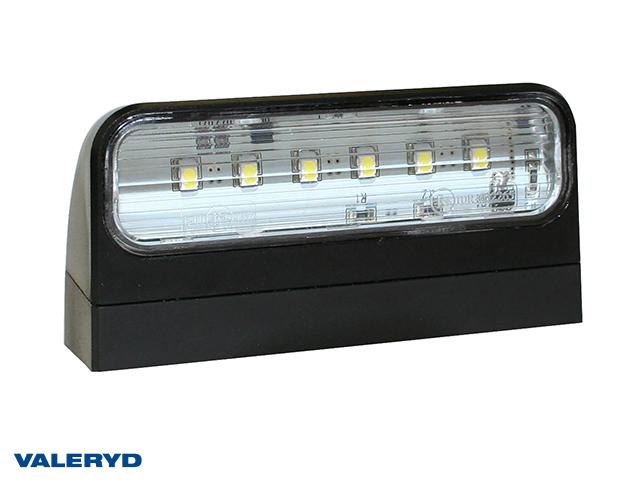 LED Nummerplåtslampa Aspöck Regpoint II 98x48x45mm 12/24V med P&R 0,50m kabel