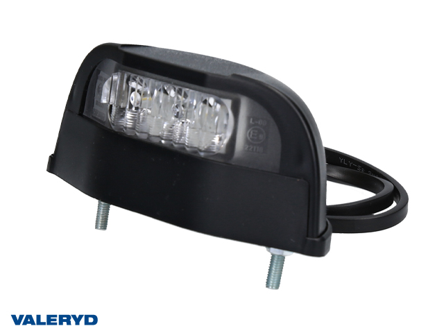 LED Skyltlykta 112x49x48 inkl. 450mm kabel