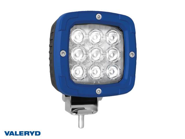 LED Arbetslampa aluminium 2800 Lm, 12/24V 1,4m kabel. Skruvanslutning