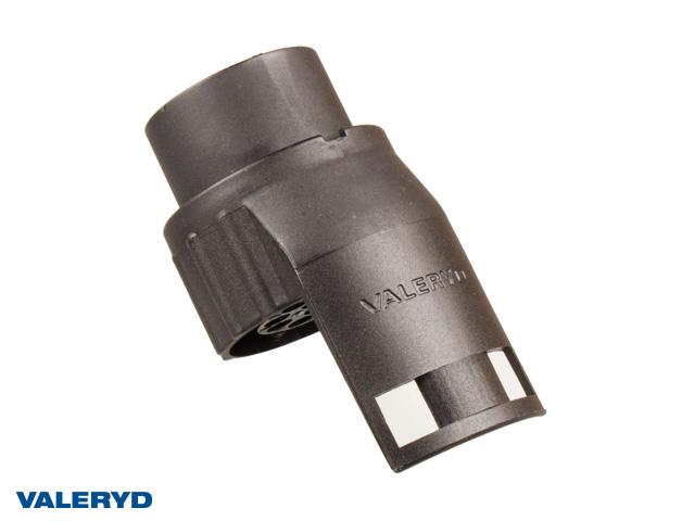 Stickpropp adapter kort 7-13 pol. plast