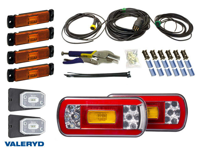 LED Belysningskit Advance, 7-pol.