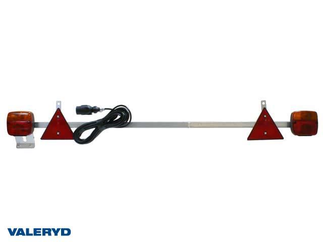 Belysningsramp Ajba 1400-2100mm, 12m kabel