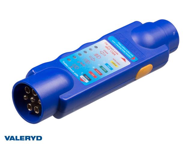 Belysningstestare 7-pol, 12V anslutning