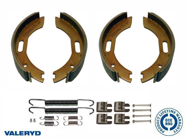 Bromsbackset 200x35 till BPW/Peitz/Hahn axelsats