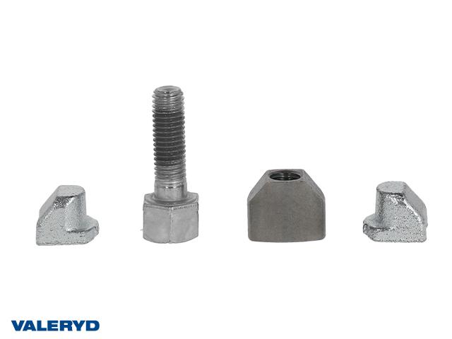 Bromsjustering komplett passar till Knott 160x35 - 200x50 M10