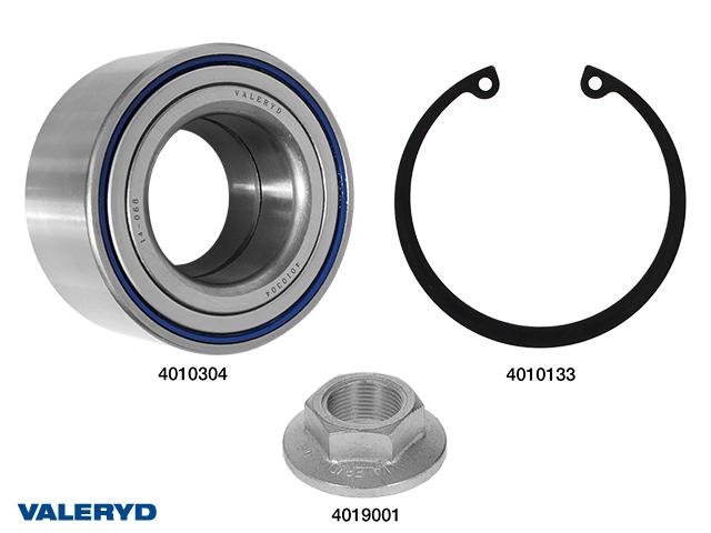 Hjullagersats compakt 39x72x37 vattenavvisande passar till AL-KO 2051, till 1 hjul