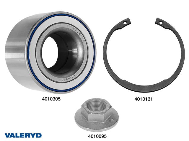 Hjullagersats compakt 42x80x42 vattenavvisande passar till AL-KO 2361, till 1 hjul