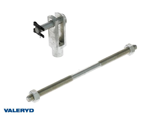 Bromsstång Hö/Vä Längd 160mm med gaffelhuvud M8