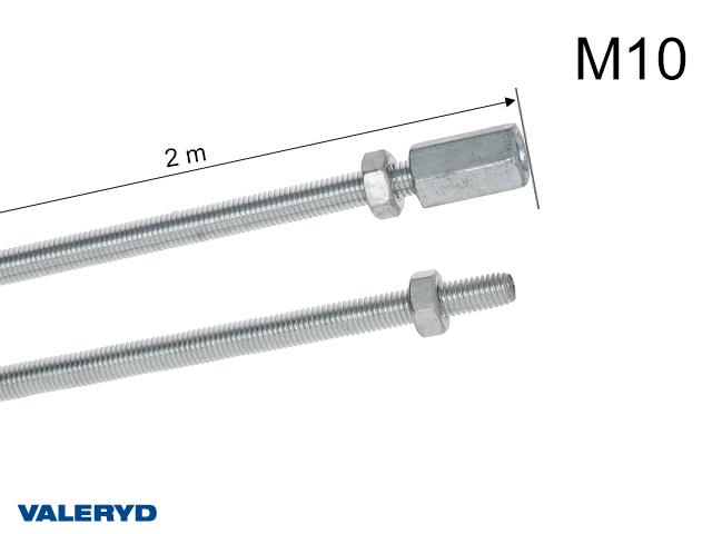 Bromsstång 2m (2x1m) M10