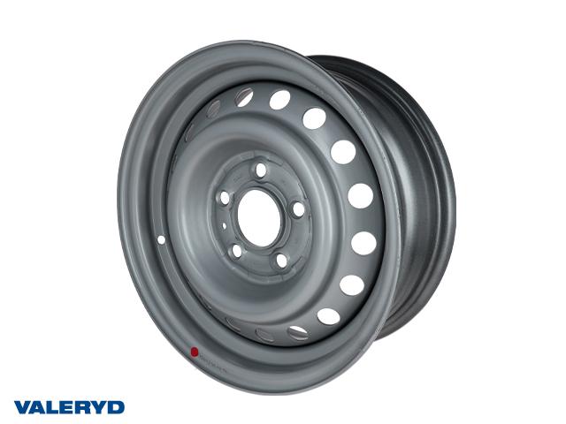 Fälg 5.50x14 Bultcirkel 5x112 Centrumhål 66,6 Offset +30 Silver, max 950kg