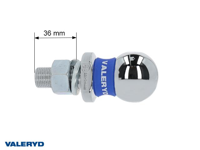Dragkula 50 mm med 22 mm tapp till traktorer eller balkfästen, E-godkänd