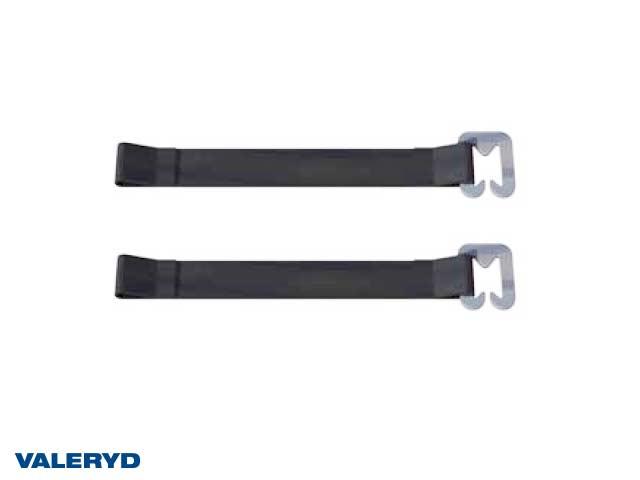 Fästrem 130-145mm, PVC-Väv (2-pack)