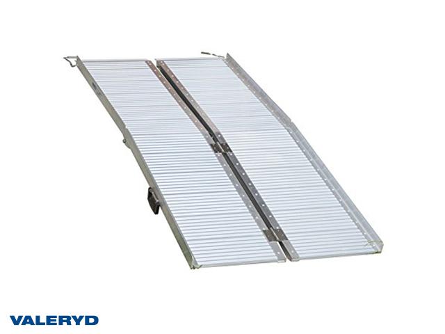 Lastramp aluminium 1525x720x50mm, vikbar: 760x360x160mm, 270 kg