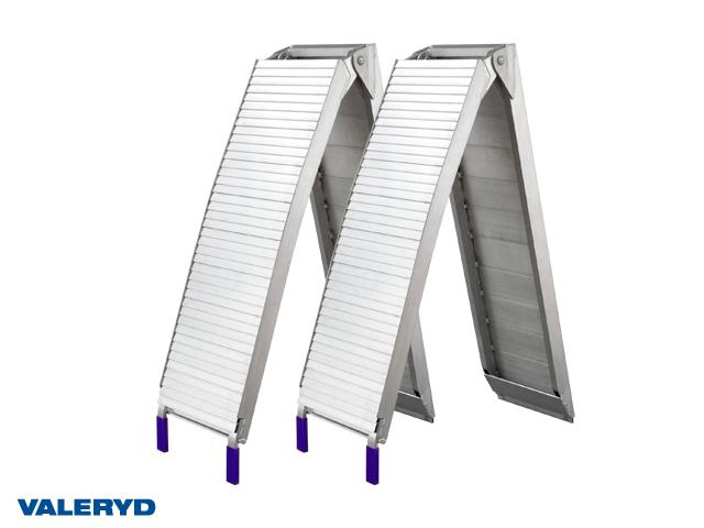 Lastramp aluminium 2060x310mm, vikbar: 1100x310mm, 680 kg/par (2-pack)