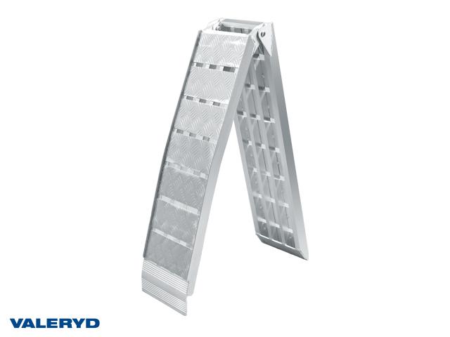 Lastramp aluminium 2260x305mm, vikbar: 1160x305mm, 680 kg