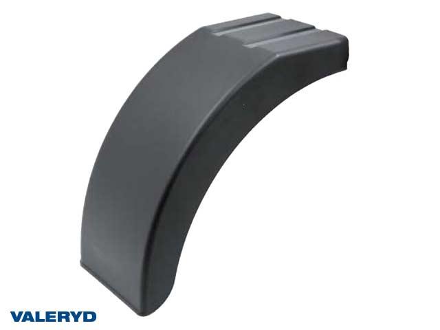 Halvskärm plast B200 H326 L384