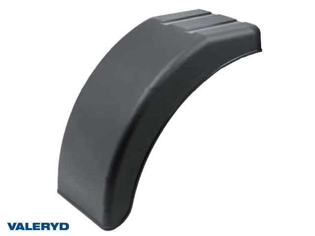 Halvskärm plast B220 H362 L395