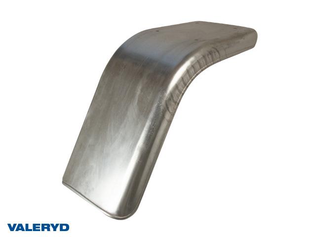 Halvskärm galvaniserad plåt. Höger bak eller Vänster fram B220 H314 L632