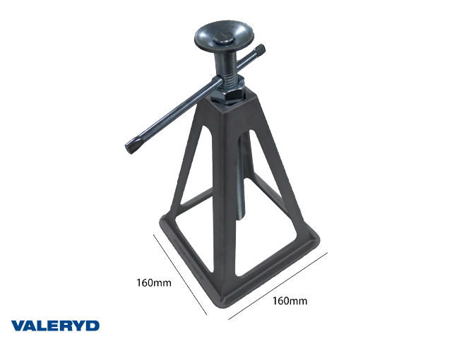 Pallbock Aluminium 160x160x222mm (4-pack)