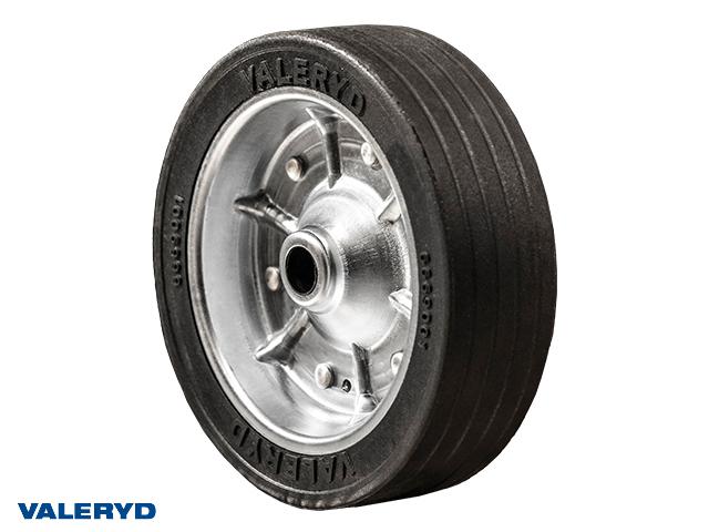 Reservhjul 215x65mm Stålfälg Fullgummihjul Ø20mm/60mm