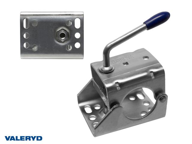 Stödhjulsklämma Ø60mm Plåt cc=105/70