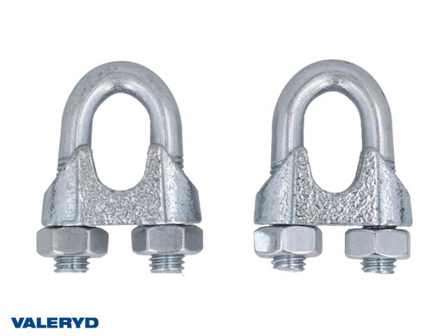Wirelås 13mm galvaniserad (2-pack)