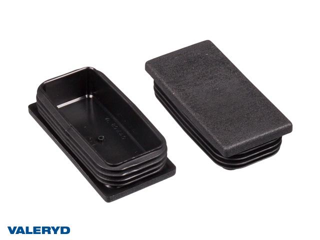 Täckplugg 80x40 invändigt 1,0-3,0 mm (2-pack)