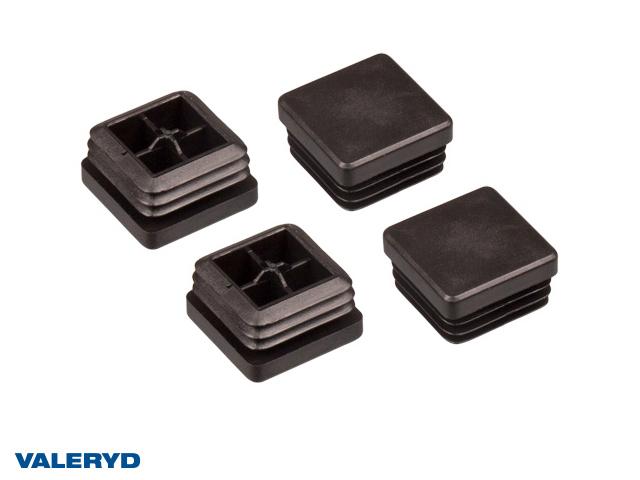 Täckplugg 30x30 invändigt 1,5-2,0 mm (4-pack)