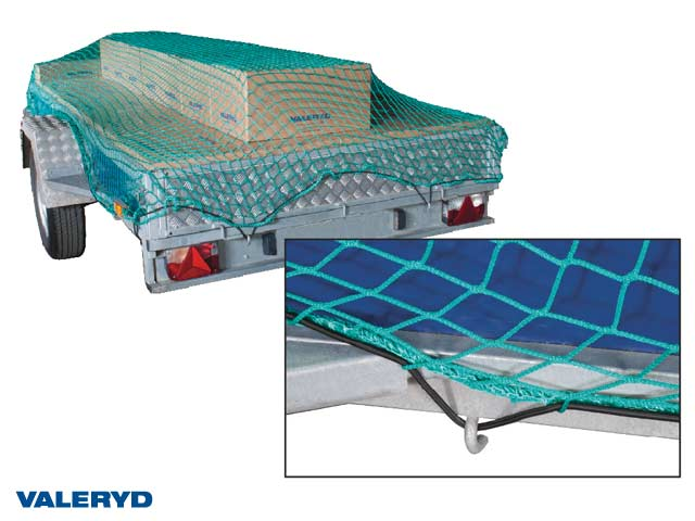 Cargo net 3000x1500, mesh size 45 mm, cord 3 mm